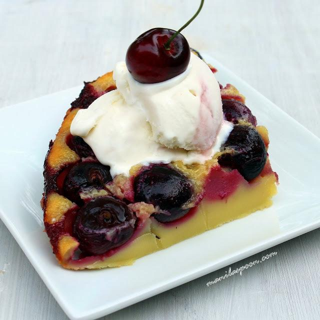 Cherry Clafoutis Guest Post From Manila Spoon Rants