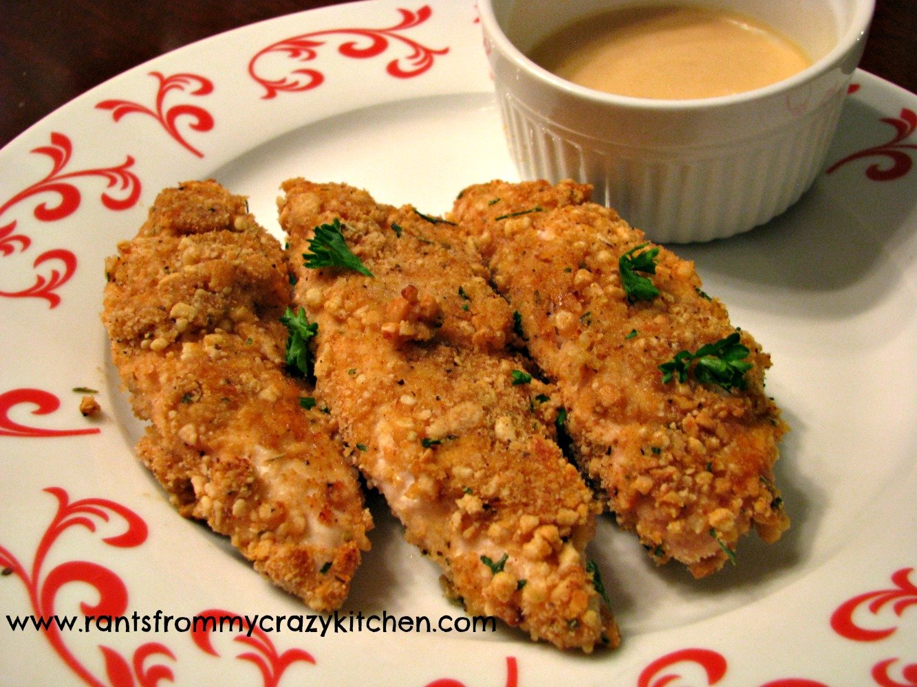 Cashew Crusted Chicken Strips Recipe