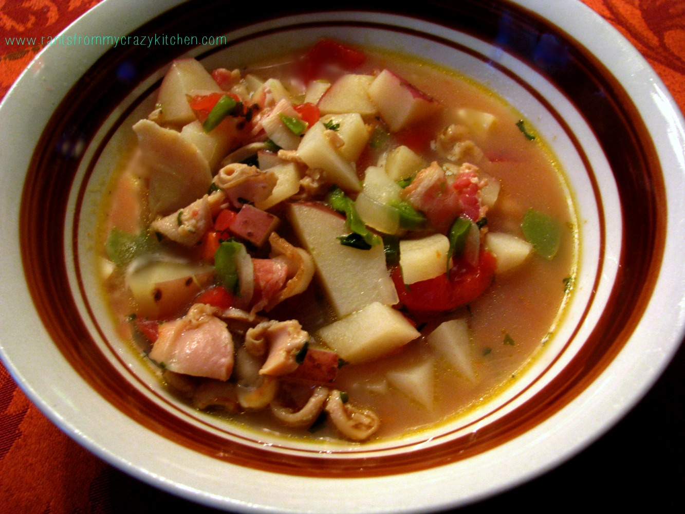 Manhattan Clam Chowder - Rants From My Crazy Kitchen