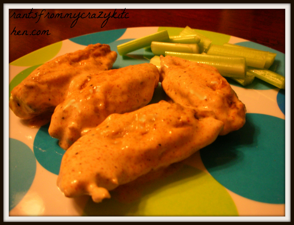 Cajun Ranch Chicken Wings - Rants From My Crazy Kitchen