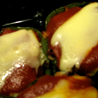 Bacon Burger Stuffed Peppers- A Recipe Swap