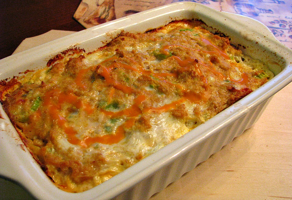 Whole Buffalo Chicken Meatloaf