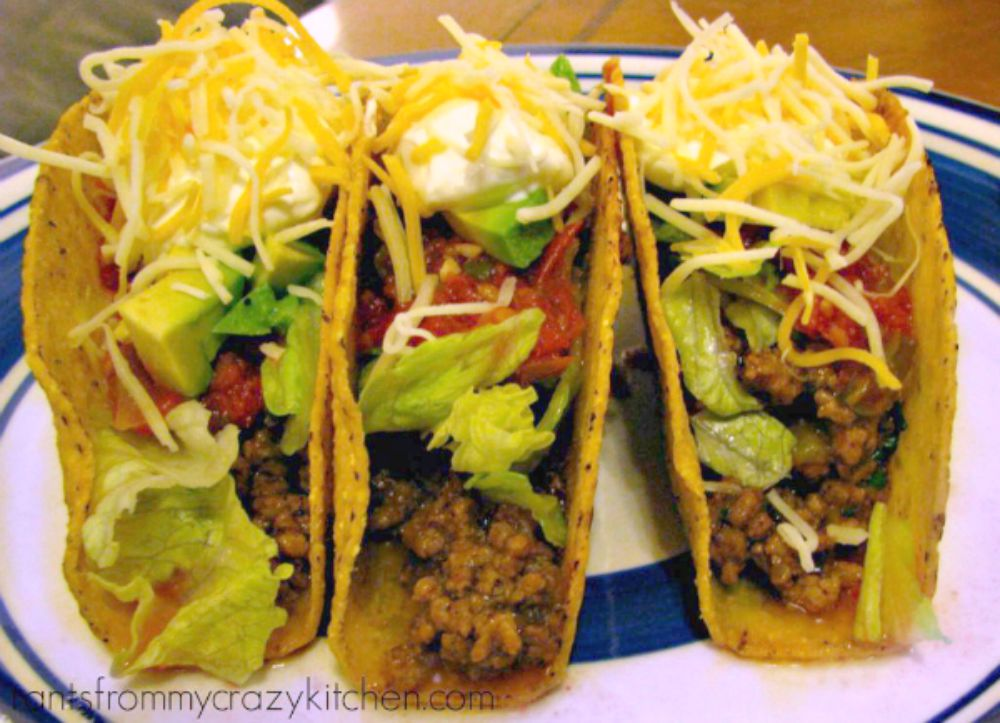 Recipe for Ground Beef Tacos