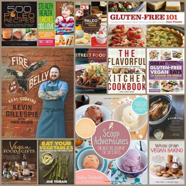 Appetizer Week Cookbook Giveaway Collage #2