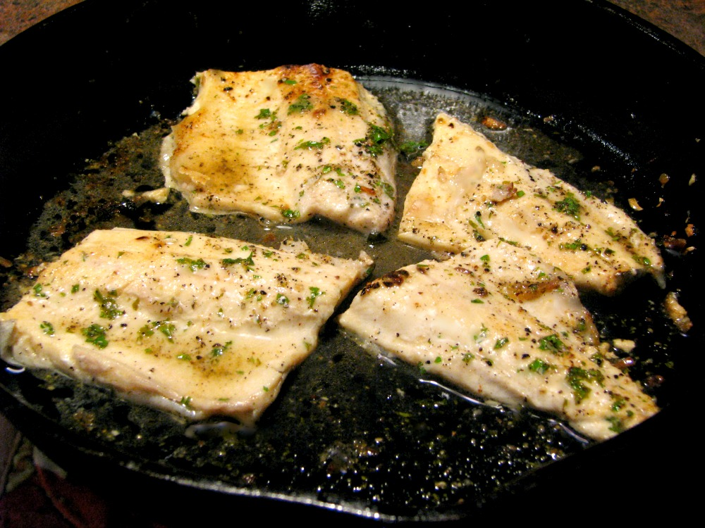 Lemon Pepper Trout