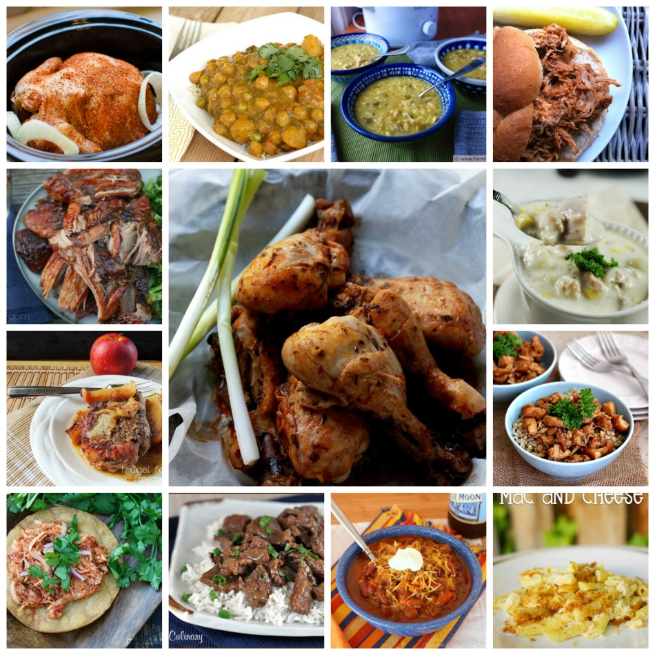 The greatest collection of crock pot/slow cooker recipes ever! Easy chicken recipes, easy beef recipes, easy pork recipes, almost anything you can think of