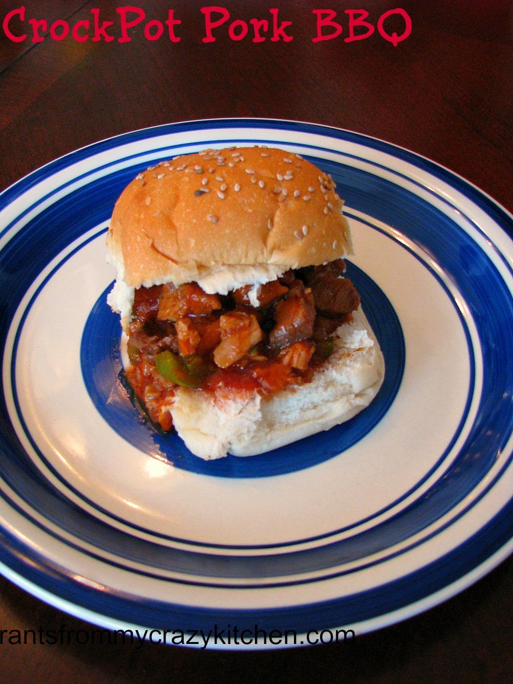 CrockPot Pork BBQ