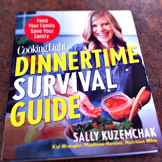 Cooking Light Dinnertime Survival Guide Cookbook Review. Unlike any other cookbook I have ever read it's chapter titles are what really brought me in.