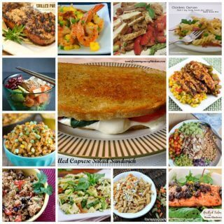 Quick Summer Dinners- A fabulous collection of over 50 fabulous summer dinner ideas! Each of the following recipes is ready in 30 minutes or less, including prep time.