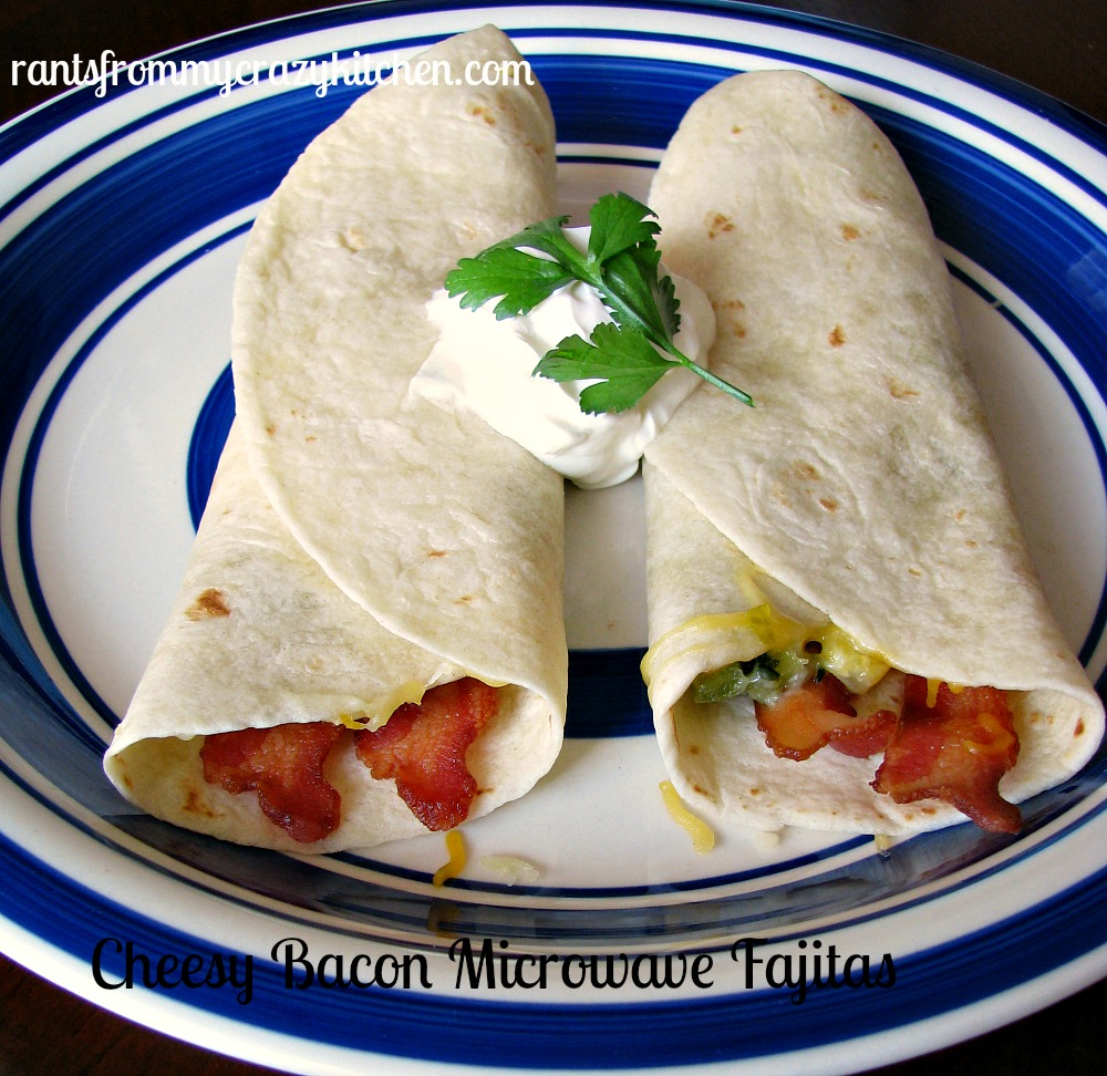 Cheesy-Bacon-Microwave-Fajitas
