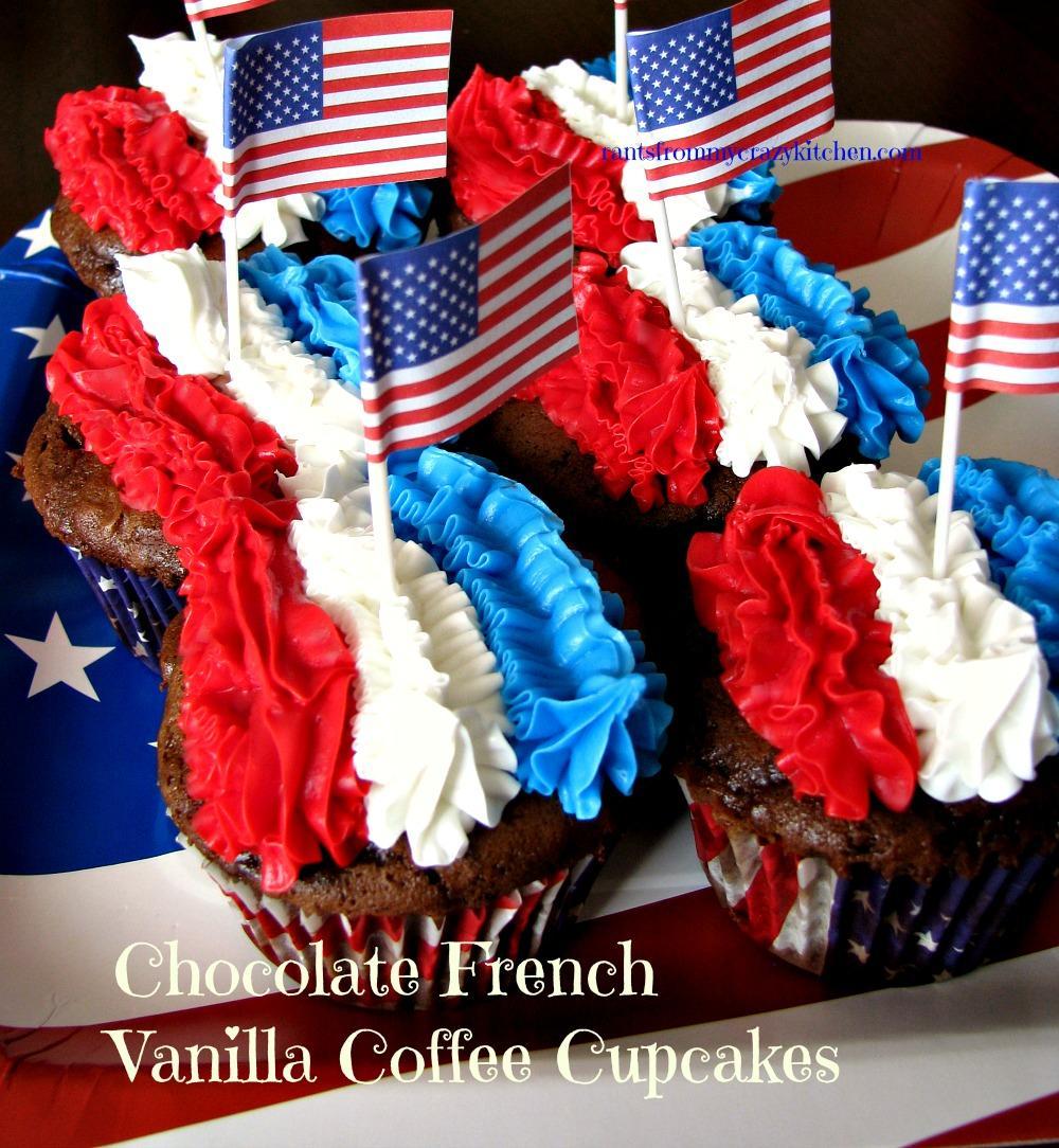 Chocolate French Vanilla Coffee Cupcakes