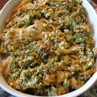 Slow Cooker Broccoli Au Gratin