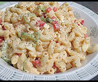 Mom's Macaroni Salad -Guest Post From Jodi Ambrose