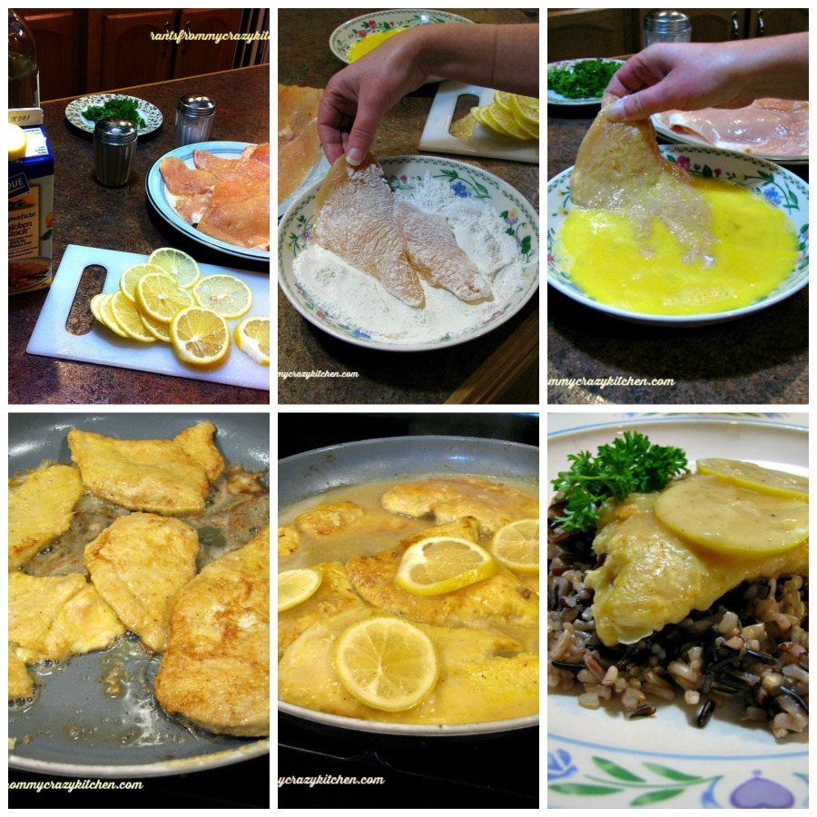 Chicken Francese Collage