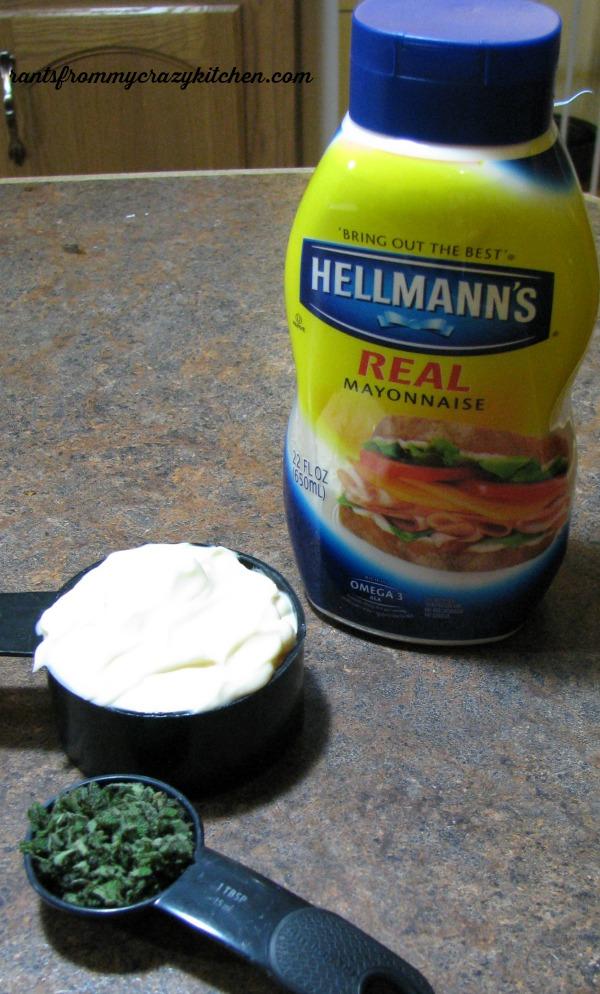 Hellmann's Mayonnaise and Sage