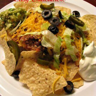 Ultimate Nachos with Easy Guacamole