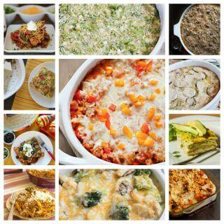 11 Delicious Low Fat Casseroles