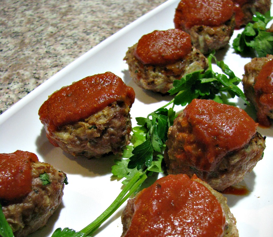 Low Fat Turkey Meatballs - A quick, easy, and healthy dinner recipe.