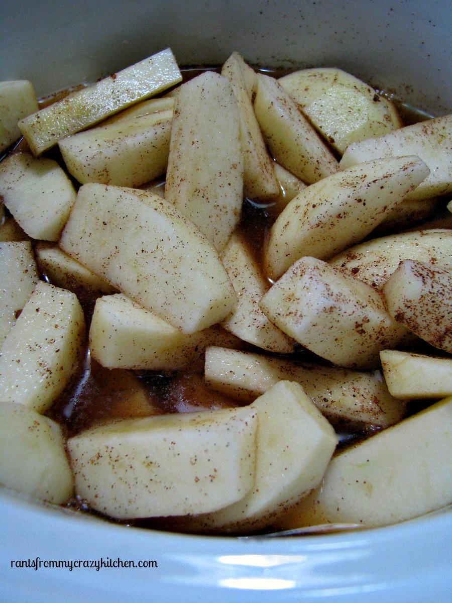 Uncooked Cinnamon Apples