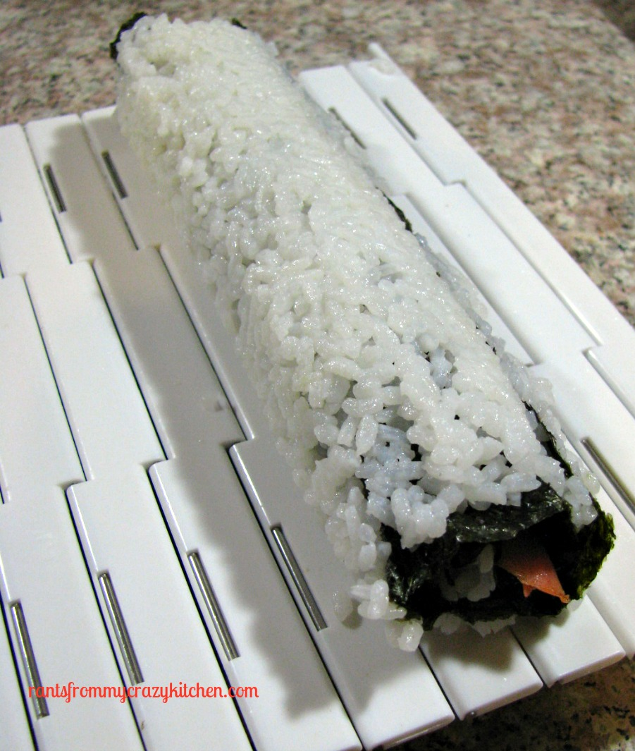 Smoked Salmon Sushi and SushiQuik Review - Rants From My Crazy Kitchen