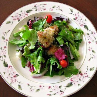 Crispy Honey Chicken Spring Salad