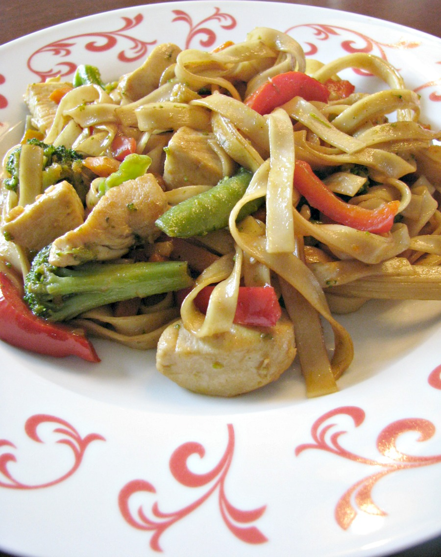 Homemade Chicken Lo Mein - Rants From My Crazy Kitchen