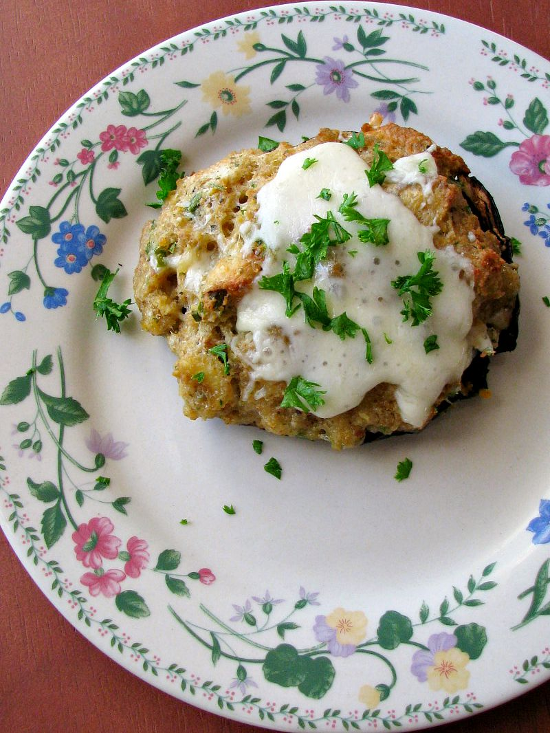 Clam Stuffed Portabella Mushrooms - Rants From My Crazy ...