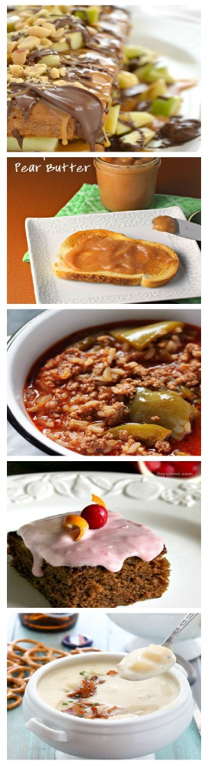 15 Fall Favorite Recipes That Aren't Pumpkin- Includes recipes from the slow cooker, desserts, dinners, side dishes, and more!