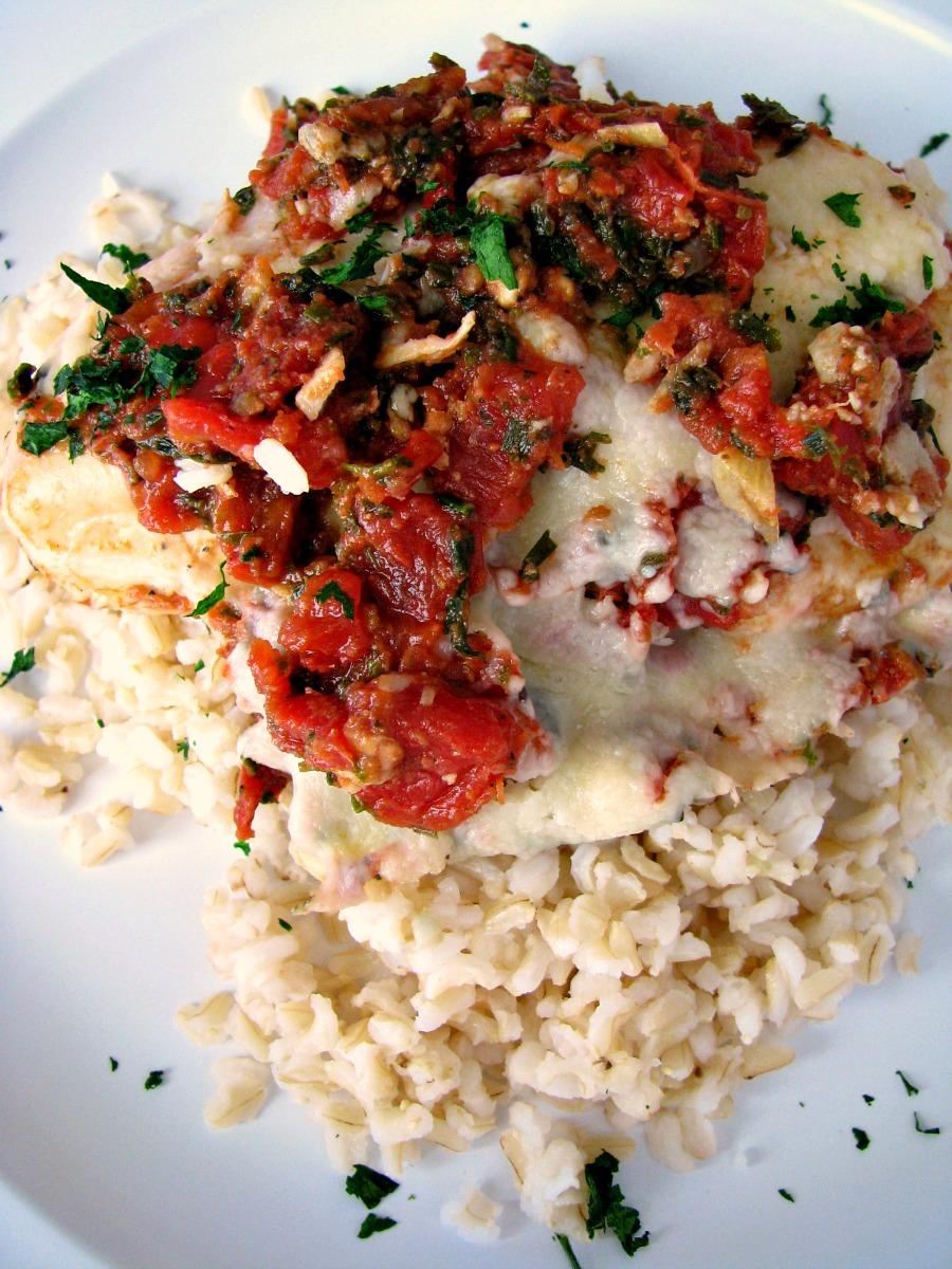 20 -Minute-Italian-Chicken-Skillet