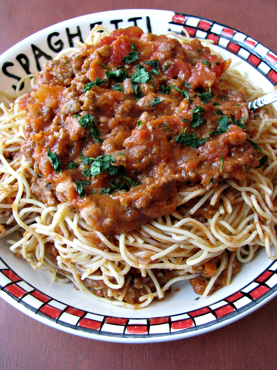 how to prepare meat sauce