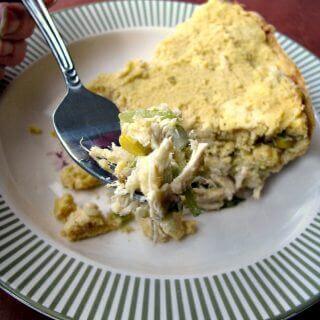 Chicken Tamale Pie for #SundaySupper