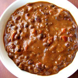 Chorizo and Black Bean Chili