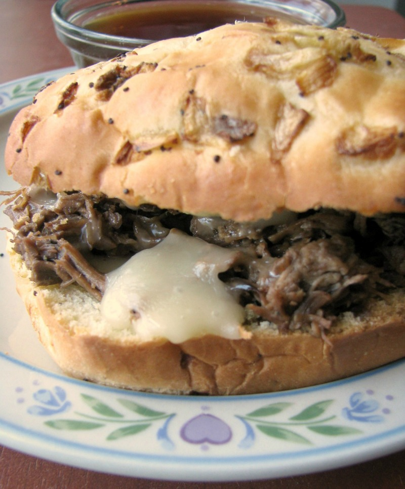 Slow Cooker French Dip Au Jus