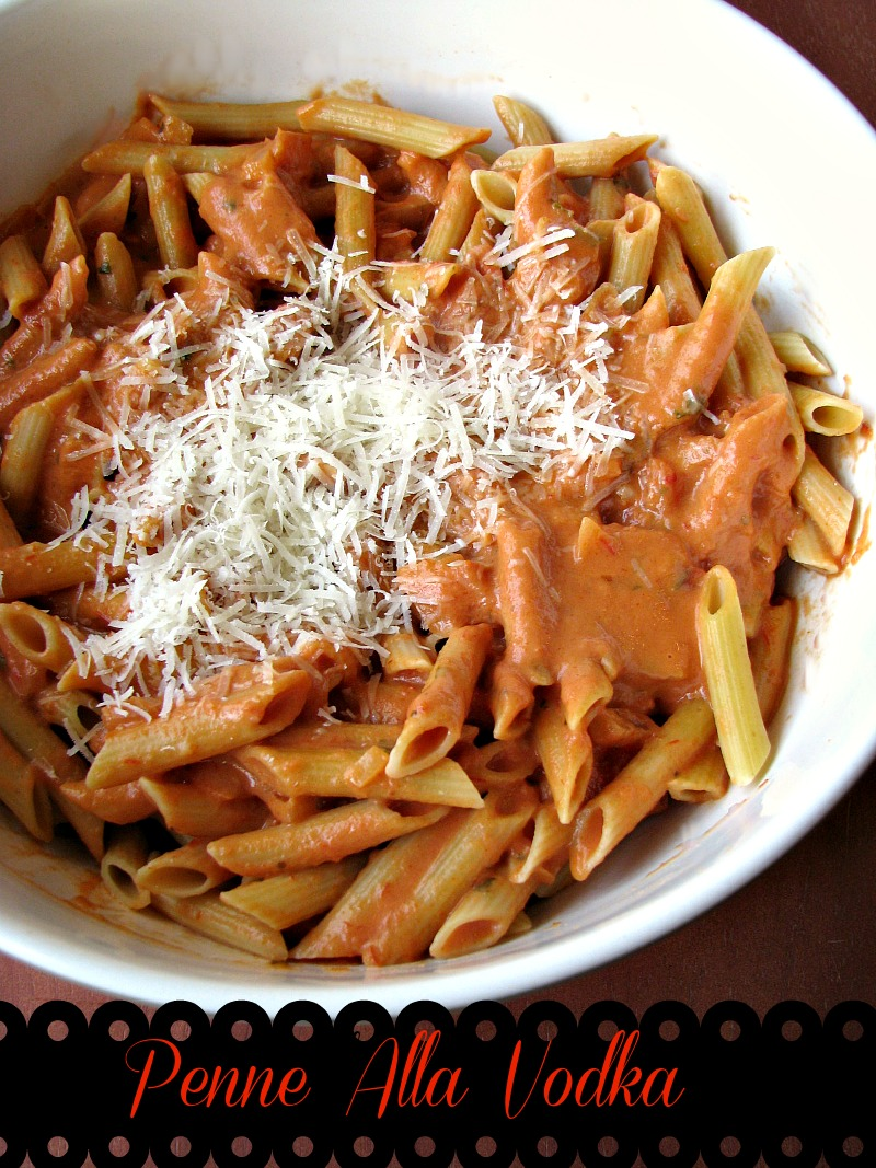 Homemade Penne Alla Vodka, restaurant quality vodka sauce is less expensive to make at home, creamy and comforting Italian food.