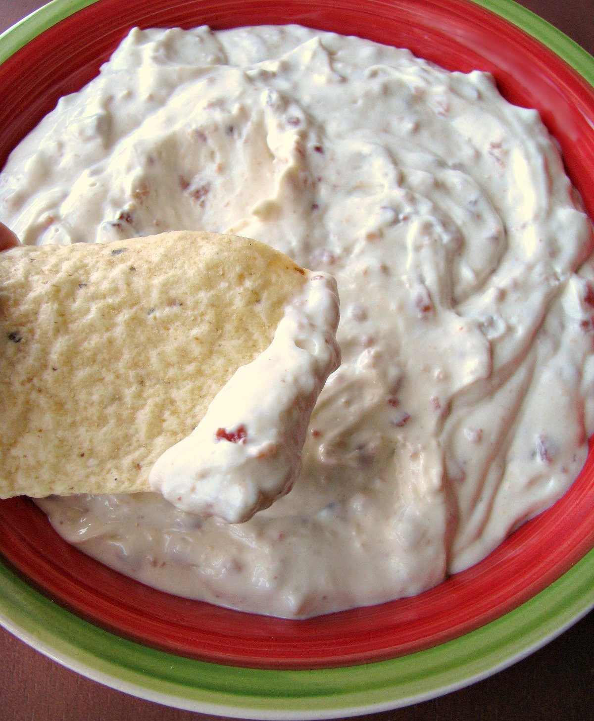 Homemade Bacon Horseradish Dip that tastes just like the popular brand! Made with real bacon, horseradish sauce, and sour cream, it's easy to make and full of flavor.