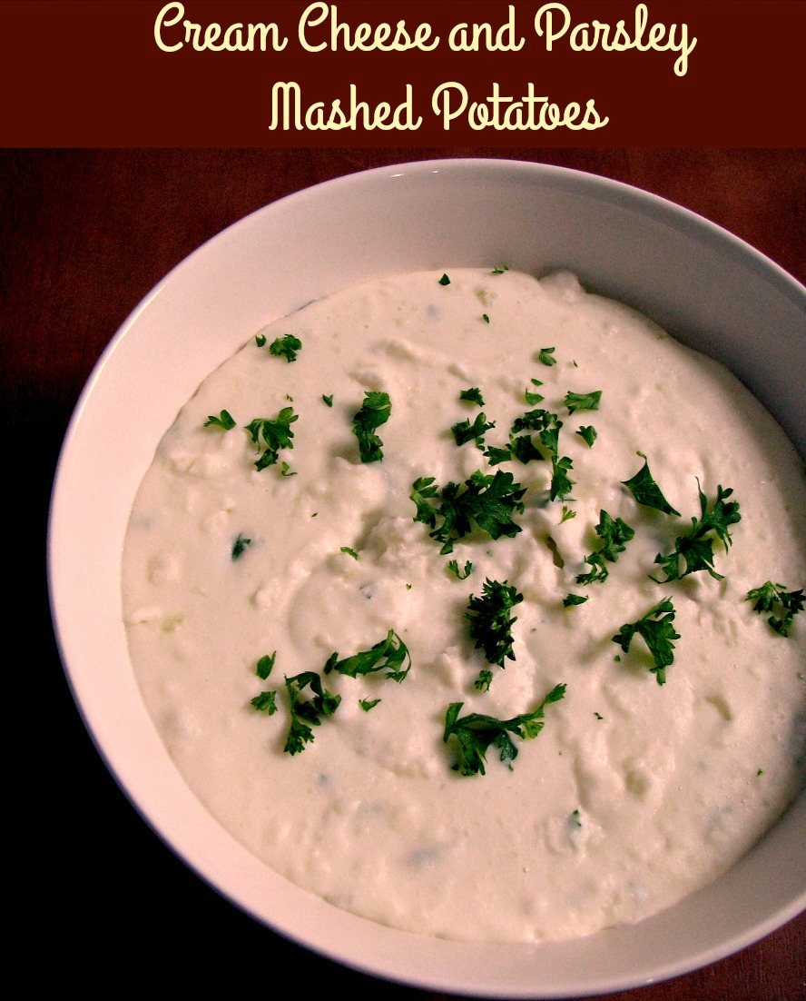 Mashed potatoes are the ultimate comfort food! Take them to the next level with these creamy, indulgent Cream Cheese and Parsley Mashed Potatoes. They are the perfect side dish for special occasion dinners!