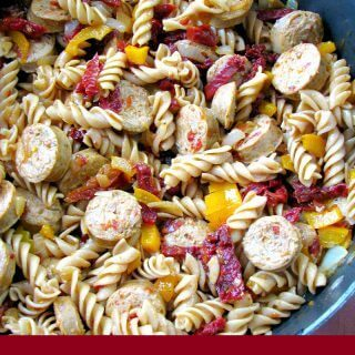 One Pot Chicken Sausage Pasta