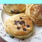 These Quick and Easy Pancakes are made with ready to cook, premixed, refrigerated batter that can easily be changed up with your favorite additions.