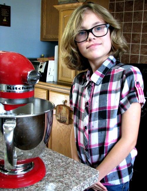 Mixing Pretzel Dough