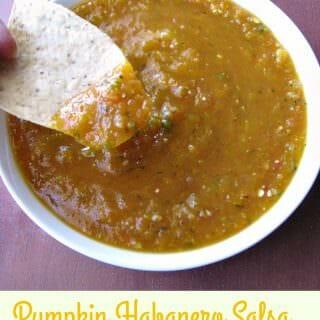Pumpkin Habanero Salsa #PumpkinWeek