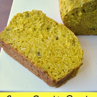 Savory Pumpkin Bread #PumpkinWeek