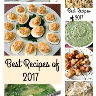 It's time to end another year by highlighting the Best Recipes of 2017, which includes something for everyone, from soups to dips, main courses to muffins, this has been a truly delicious year!