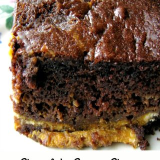 Chocolate Cream Cheese Pumpkin Cake #PumpkinWeek