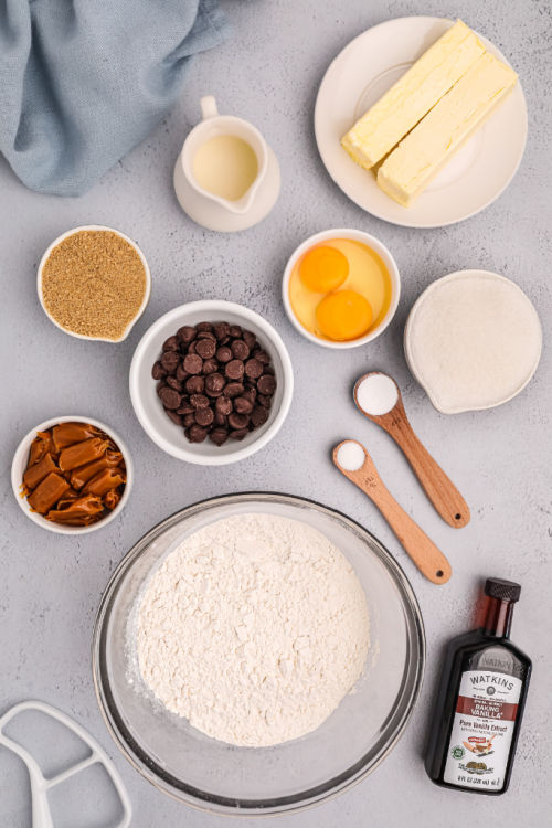 photo of ingredients for cookies